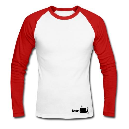 festiwal baseball longsleeve - Männer Baseballshirt langarm