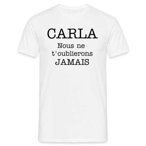 Carla remember homme 2 - T-shirt Homme