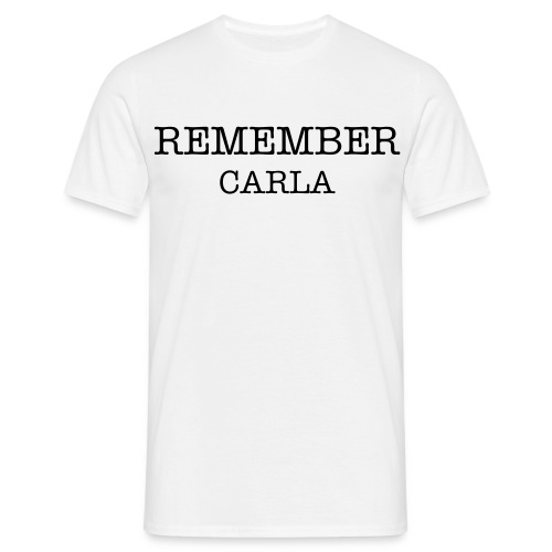Carla REMEMBER homme - T-shirt Homme