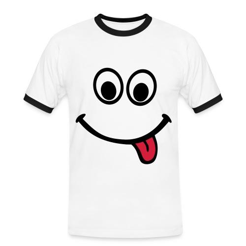 T-Shirt Erdbeere - Männer Kontrast-T-Shirt