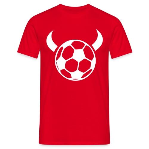 Fussball 1291-2006 T-Shirt rot - Männer T-Shirt