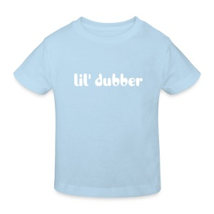 lil' dubber - organic kids tee [light blue] - Kids' Organic T-shirt