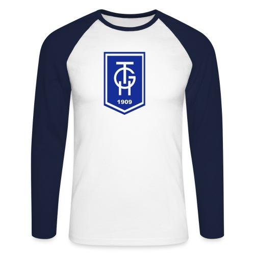 TGH Raglanshirt, beflockt - Männer Baseballshirt langarm