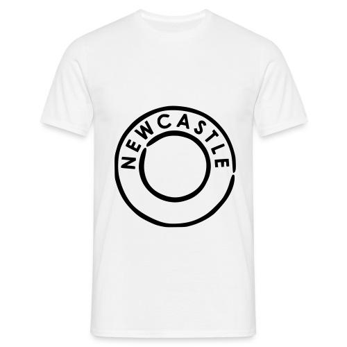 Newcastle Postmark - Men's T-Shirt