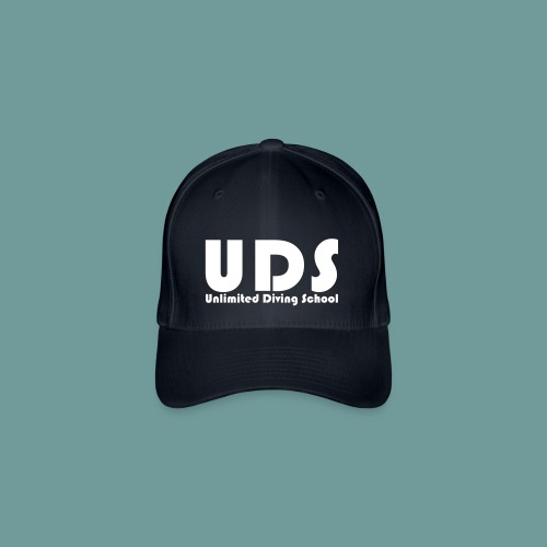 Casquette Flexfit - casquette avec Initiales UDS et inscription Unlimited Diving School