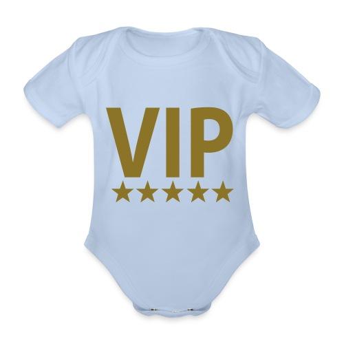 VIP Body - Økologisk kortermet baby-body