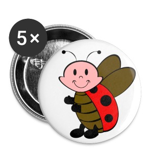Badge coccinelle - Badge petit 25 mm