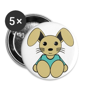 Badge lapin - Badge petit 25 mm