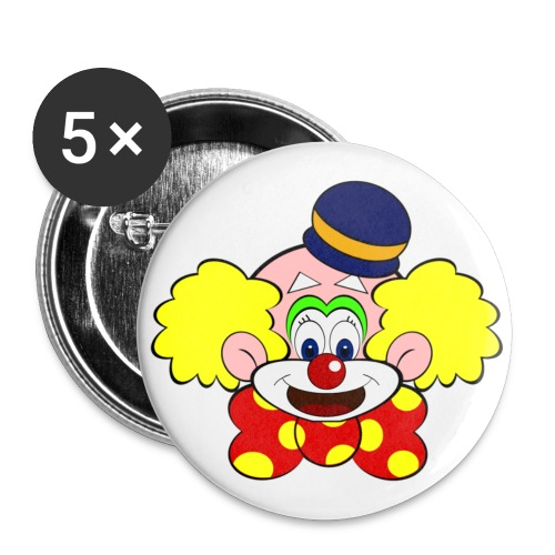 Badge clown - Badge petit 25 mm