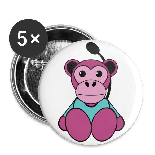 Badge singe - Badge petit 25 mm