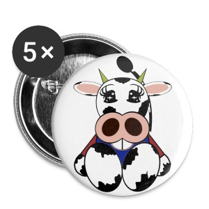 Badge vache - Badge petit 25 mm