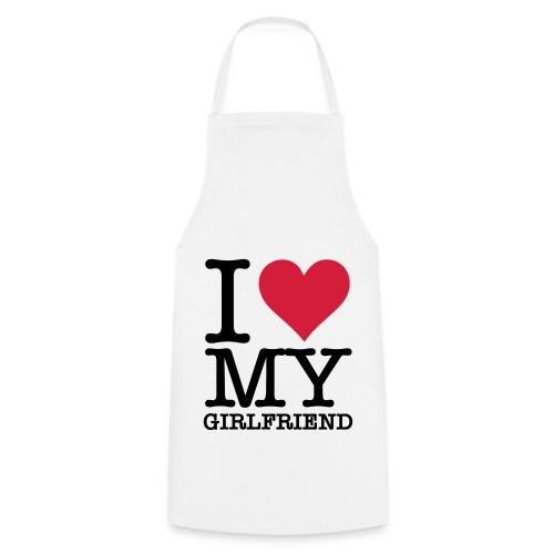 Love my Girlfriend - Kochschürze