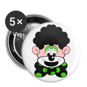 Badge clown - Badge petit 25 mm