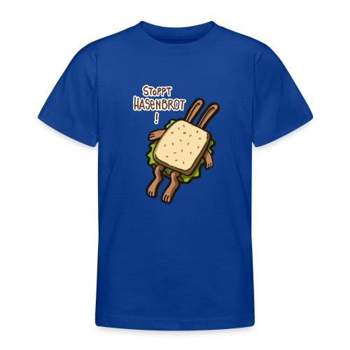 Stopppt Hasenbrot! color - Teenager T-Shirt