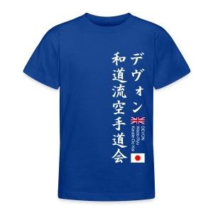 Devon Wado-Ryu Karate-Do Kai - Teenage T-shirt