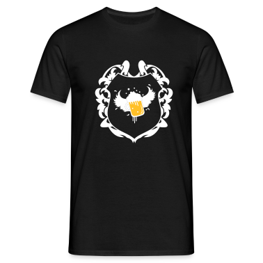 A coat of arms motif T-Shirts