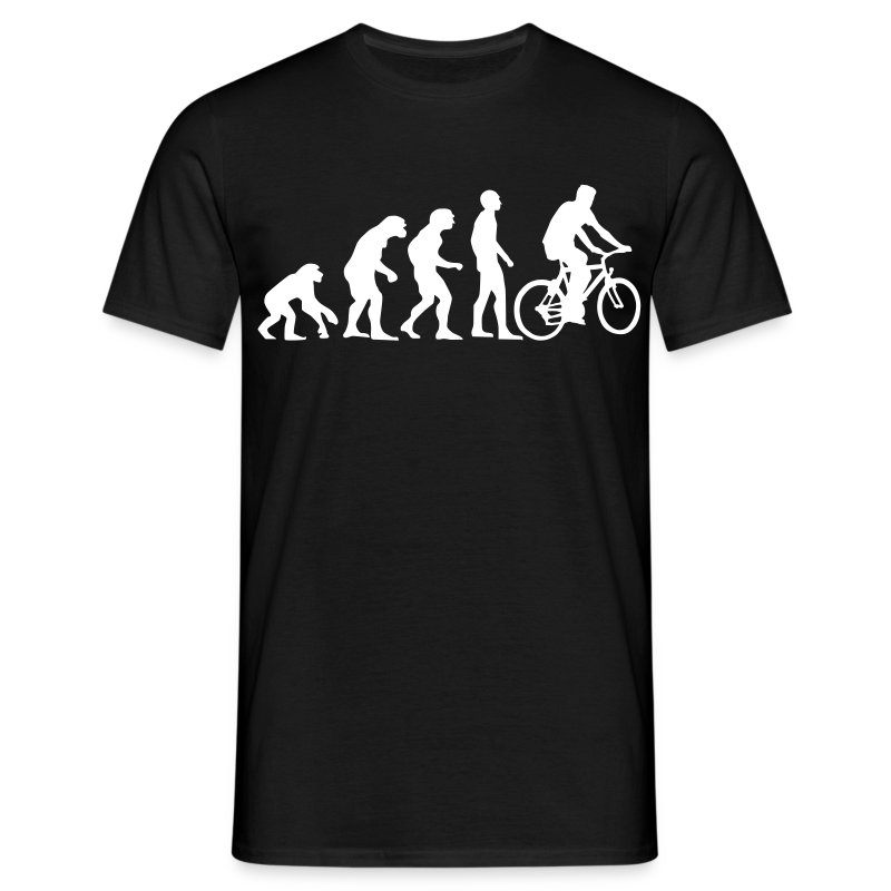 cycle evolution - Männer T-Shirt