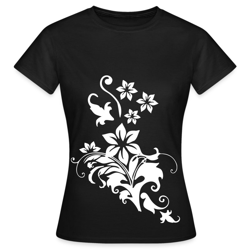 flowers - Frauen T-Shirt