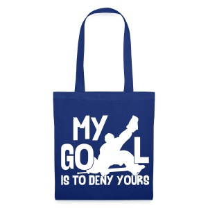 'My Goal is to Deny Yours' Tote Bag - Tote Bag