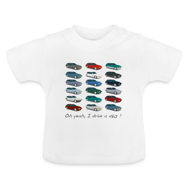 T-Shirt bébé - Colors of 480