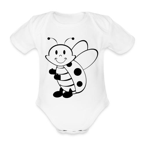 Body bébé coccinelle - Body bébé bio manches courtes
