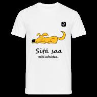T-paidat ~ Miesten t-paita ~ Selässä