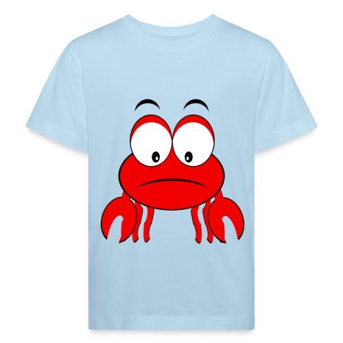 T shirt enfant plage crabe - T-shirt bio Enfant