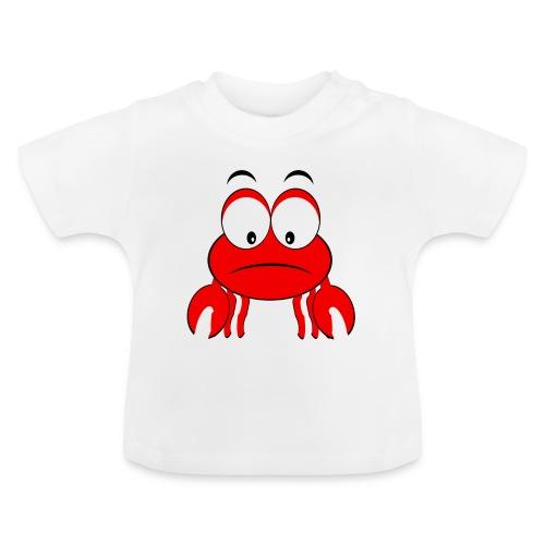 T shirt bébé plage crabe - T-shirt Bébé