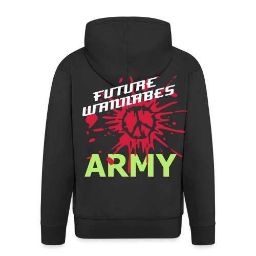 FUTURE WANNABES ARMY - Men's Premium Hooded Jacket