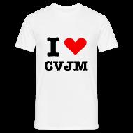 T-Shirts ~ Männer T-Shirt ~ I love CVJM - Edition