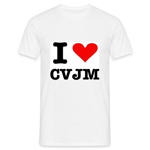 I love CVJM - Edition - Männer T-Shirt