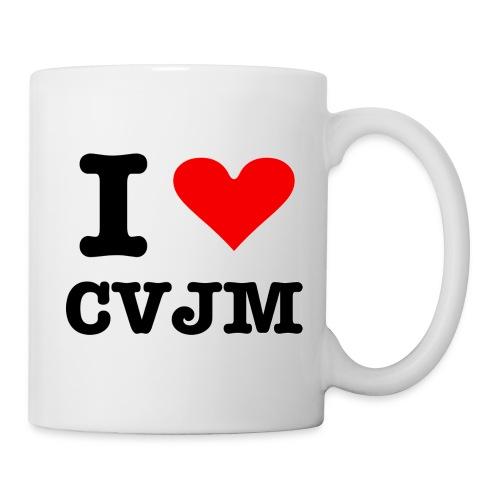 I love CVJM - Edition - Tasse