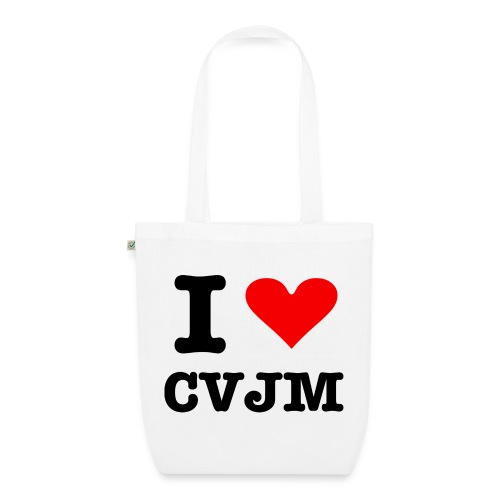 I love CVJM - Edition - Bio-Stoffbeutel