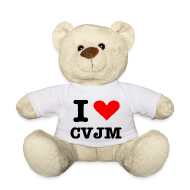 Kuscheltiere ~ Teddy ~ I love CVJM - Edition