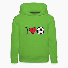 I love football Kids' Tops