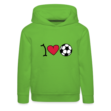 I love football Pullover bambini