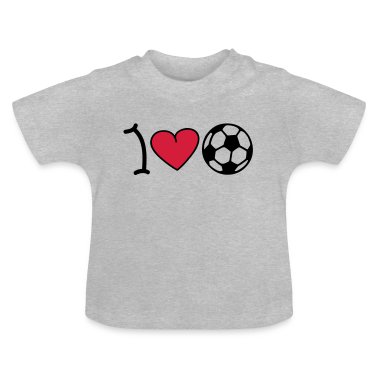 I love football Baby Shirts