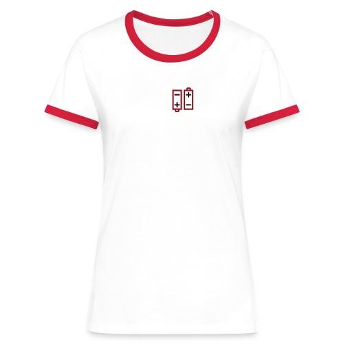Batteries not included - Frauen Kontrast-T-Shirt