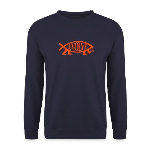 Front Back Evolve Sweatshirt - Männer Pullover