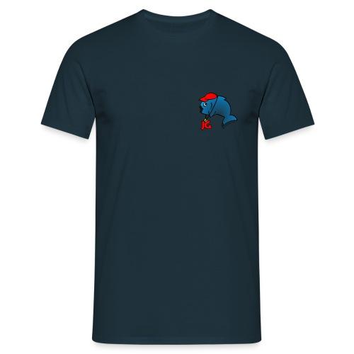 Standard JG T-Shirt mit farbigem Logo. - Männer T-Shirt