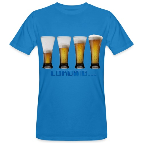 tshirt loading beers by customstyle - T-shirt bio Homme