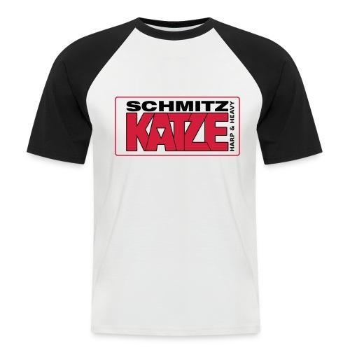 Das Katzen Baseball-Shirt - Männer Baseball-T-Shirt