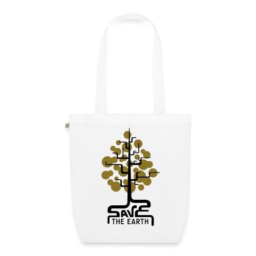 Save the earth! (Beutel / Tasche) - Bio-Stoffbeutel