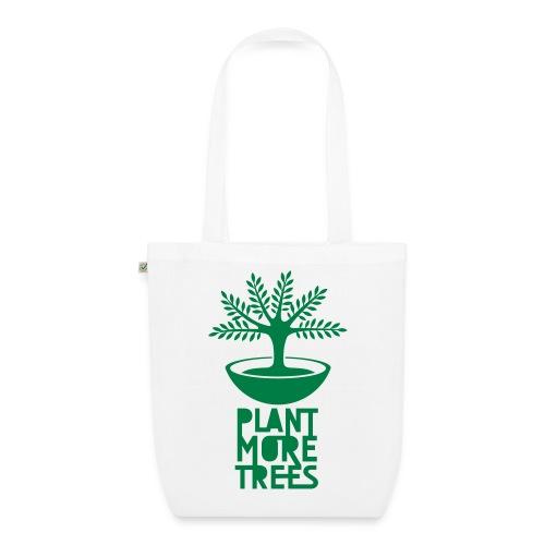 Plant more trees! (Beutel / Tasche) - Bio-Stoffbeutel