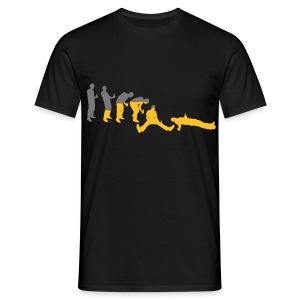 Saufen Evolution (Party Shirt) - Männer T-Shirt