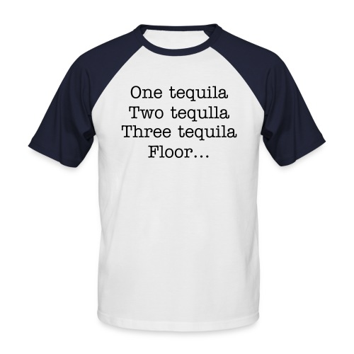 Tequila ! - T-shirt baseball manches courtes Homme