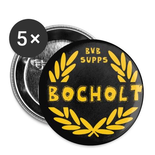 Buttons Bocholt - Buttons klein 25 mm (5er Pack)