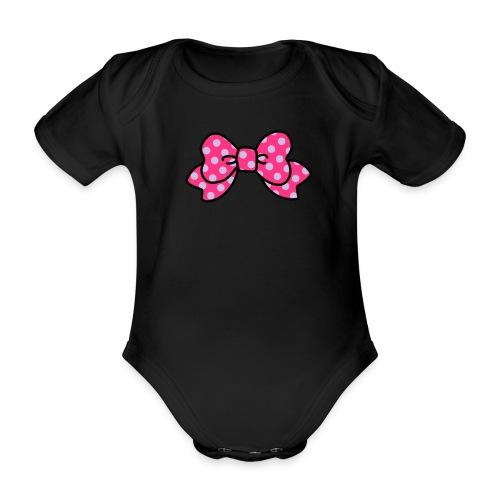 Schleifchen 3 - Baby Bio-Kurzarm-Body