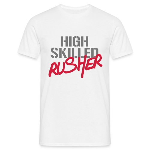 Rusher - Men's White - Men's T-Shirt