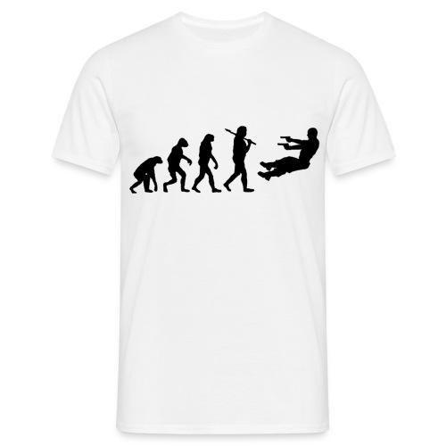 Evolution - Men's White - Men's T-Shirt